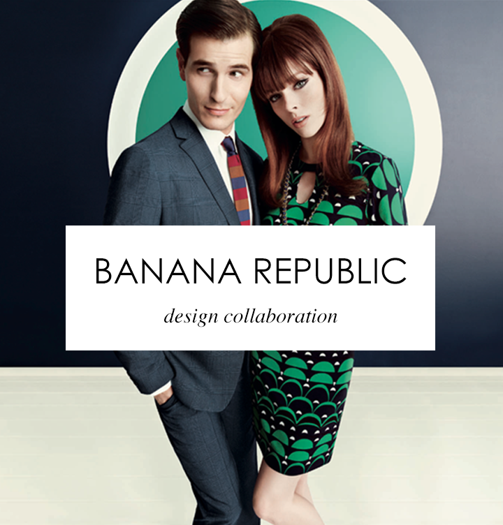 Banana Republic - Janie Bryant Design Collaboration
