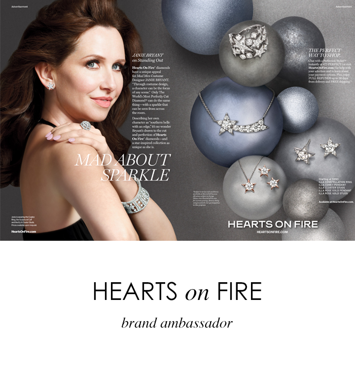 Hearts on Fire - Janie Bryant Brand Ambassador