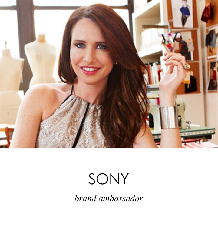 Sony - Janie Bryant brand ambassador